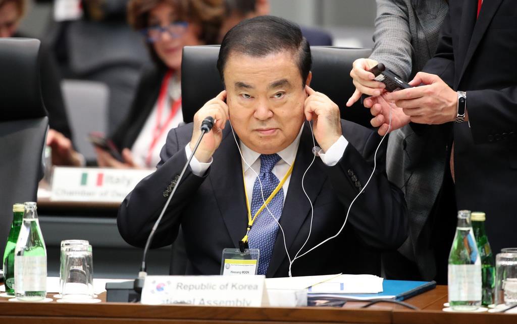 政界徒然草】韓国議長、何しに来日したのか 発言撤回なし、会議は途中 ...