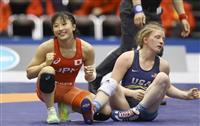 日本V5、決勝で米国下す レスリング女子W杯最終日