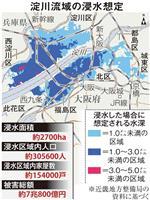 都市部の河川決壊、対策は万全か