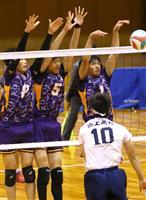男子は天理、女子は奈良文化 春高バレー奈良県大会
