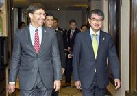 日米防衛相が会談、GSOMIA重要性確認も進展なし