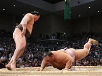 白鵬が1敗で首位維持 1差は朝乃山と輝で変わらず 大相撲九州場所