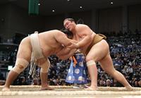 輝、2敗キープ「やりたいことができている」 大相撲九州場所