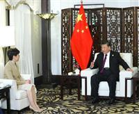 中国紙、香港デモへの批判強める 習近平氏の発言受け