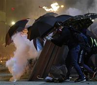 香港逮捕の日本人は旅行者 茂木外相「早期解放に努力」