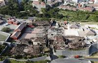焼失した首里城跡 発掘でジレンマ…ルーツ解明か、遺構保存か