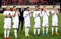 スイス、デンマークが突破 サッカー欧州選手権予選