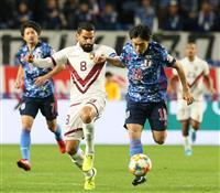 サッカー日本-ベネズエラ速報(3)日本がまた失点、0-2に
