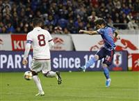 サッカー日本-ベネズエラ速報(6)日本、途中出場・山口のミドル弾で1点返す
