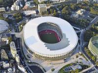 新国立競技場、全工事が完了 整備費は1569億円