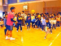 児童がタイの国民的球技を体験 五輪ホストタウンの茨城・龍ケ崎