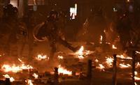 香港デモ、観光の東京農大生逮捕 衝突の理工大周辺