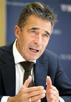 AI冷戦、日米欧で中露対抗を NATO前事務総長単独インタビュー