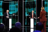 英党首討論は互角 保守党「確実に離脱」労働党「国民再投票」