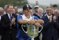 世界1位のケプカ欠場 男子ゴルフのプレジデンツ杯