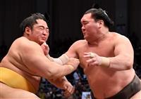 荒ぶる白鵬、1敗死守 22日にも43度目優勝 大相撲九州場所