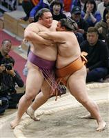 朝乃山3敗「違いを見せられた」 大相撲九州場所