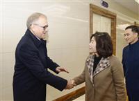 ロ朝、関係引き上げを協議 モスクワで初の戦略対話