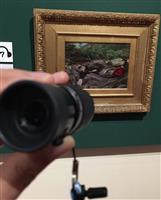 単眼鏡で堪能「鳥の巣ハント」精緻な筆跡 ラファエル前派の軌跡展