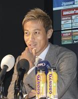 フィテッセ本田が会見 東京五輪へ「自信はある」