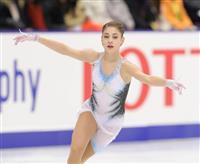 紀平、女子SP2位発進 コストルナヤが世界最高 フィギュアNHK杯