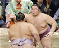 朝乃山、10勝目にも「普通っす」 年間最多勝も決定 大相撲九州場所