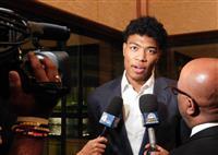 バスケ八村、五輪での活躍宣言 米ワシントンでイベント