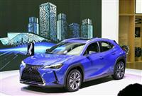 レクサスEV市販車初披露 中国でモーターショー開幕