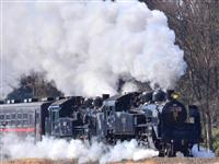 真岡鉄道のSL、23日に最後の重連運転 維持費かさみ1両は譲渡へ