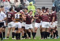 早大が6戦全勝 関東大学ラグビー対抗戦