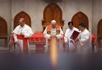 ローマ教皇、日本に出発 タイ訪問終了、被爆地へ