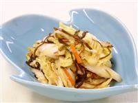 【ひなちゃんパパの家族レシピ】白菜と塩昆布の浅漬け