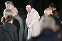 【ローマ教皇来日】「戦争のため原子力使用は犯罪」 広島で平和メッセージ