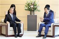 安倍首相「自由で開かれた香港が重要」 中国外相と会談