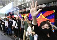 【香港区議会選】デモ封じ込めの構え崩さず 中国当局、論評避け沈黙