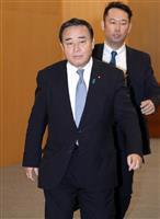 梶山経産相「両国間の調整踏まえた」輸出管理の発表めぐる日韓相違で改めて反論