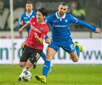 原口が今季初ゴールも黒星 サッカーのドイツ2部