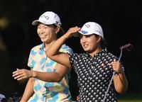鈴木最終組、渋野は一つ前 28日から女子ゴルフ最終戦