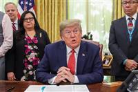 米中合意「最後の苦しみ」 大統領、香港問題牽制も