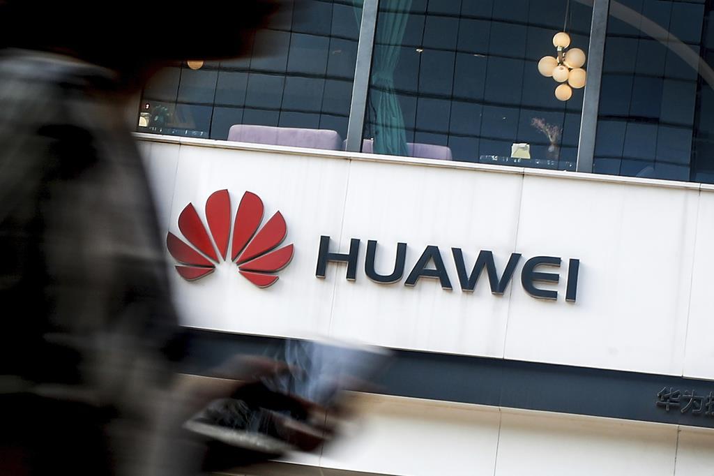 米通信網に危険を及ぼす可能性のある中国製品への規制案は、ファーウェイ製品などが対象になりそうだ(AP)