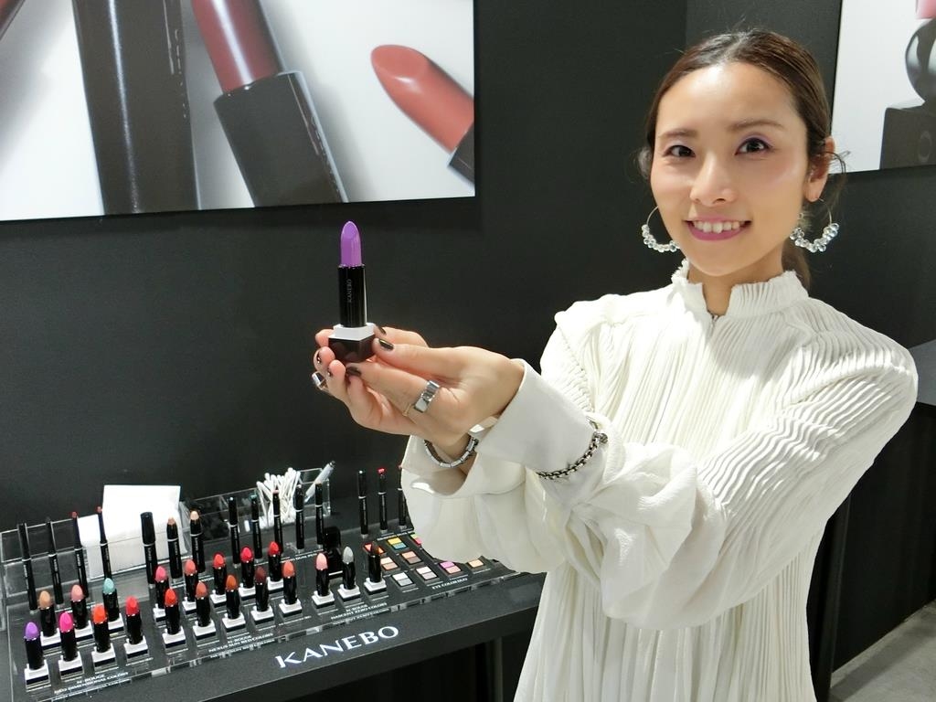 カネボウ化粧品が「KANEBO」一新、「希望」を発信、口紅など発売 - 産経ニュース