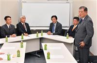 石破・前原両氏ら安保勉強会初会合、北朝鮮の対応など議論