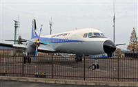 但馬空港、YS-11「化粧直し」完了 兵庫