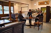 文化財のJR松尾寺駅旧駅舎にカフェ 舞鶴産のお茶など提供