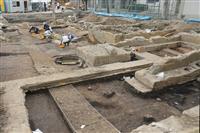 平安前期の貴族園池確認 数十年で廃絶か 京都の花園大キャンパス