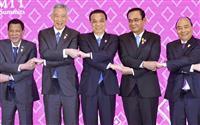 【マーライオンの目】奥深い「ASEAN式握手」