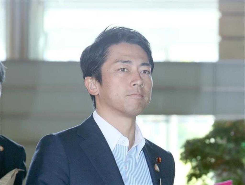 小泉進次郎環境相(春名中撮影)