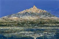 北海道・利尻富士を描き続けた礼文島出身の画家、笹山峻弘氏の作品集まとまる