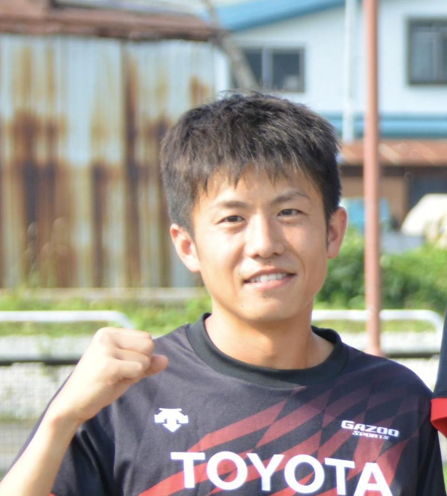 北海道・士別市で合宿を行ったMGCに出場するトヨタ自動車の藤本拓(8月6日撮影)