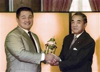 中曽根元首相死去 JOC山下泰裕会長「驚いている」